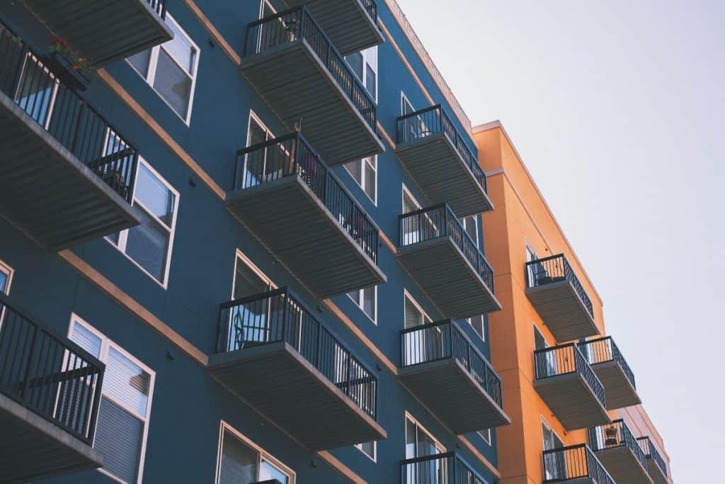 generic modern looking residential building