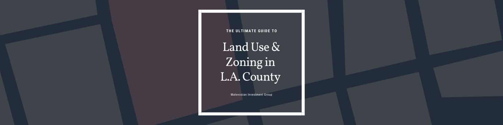 land use and zoning guide graphic